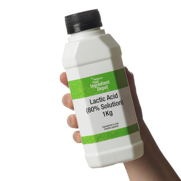 Lactic Acid 80% Liquid Solution 1Kg