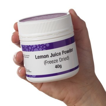 Lemon Juice Powder (FD) 40g
